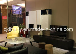 Italian Modern Style Living Room TV Set Cabinet (SM-TV07) pictures & photos