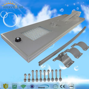 6W to 120W High Brightness LED Integrated Solar Street Light Price List with CCTV Camera pictures & photos