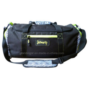 Large Sport Duffle Bag with Zebra Print Design pictures & photos