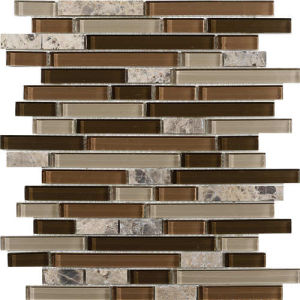 8mm Natural Stone Marble Mosaic for Background Wall pictures & photos