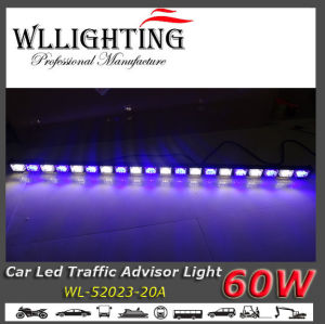 Blue/White LED Arrow Warning Bar Lights for Ambulnce pictures & photos