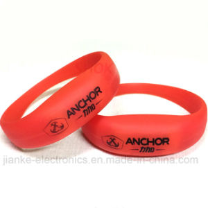 Music LED Light up Wristband Bracelets with Logo Print (4010) pictures & photos