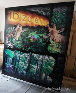 Full Color Printing Aluminum Alloy Scrolling 150X200cm Banner Display Stand pictures & photos