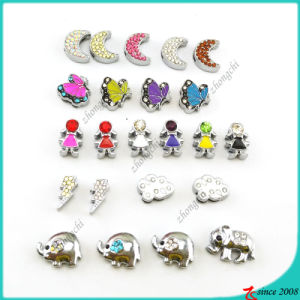 Wholesale Newest Design 8mm Slide Charms Jewellery (SC160419109)