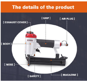 """18 Ga. 1-1/4"""" Brad Nailer (F32) Pneumatic Air Tacker F32 with Quick Release pictures & photos"""