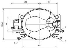 Qd65h R134A Piston Compressor pictures & photos