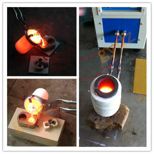 Electromagnetic Induction Heating Machine for Melting Copper, Gold, Brass pictures & photos