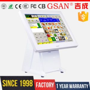 Double 15 Inch Screen Touch POS Terminal pictures & photos