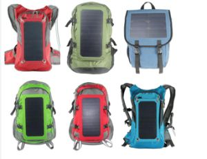 Popular Solar Power Backpack pictures & photos