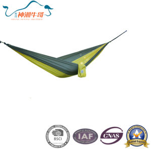 High Quality Nylon Ripstop Swing Hammock pictures & photos
