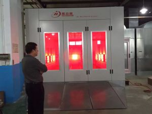 Environmental Automotive IR Heated Spray Booth for Sale pictures & photos
