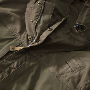 Mens Parka Padded Down Casual Jacket with Hood pictures & photos