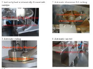 Automatic Coffee Powder Capsule Filling Sealing Machine ( pictures & photos