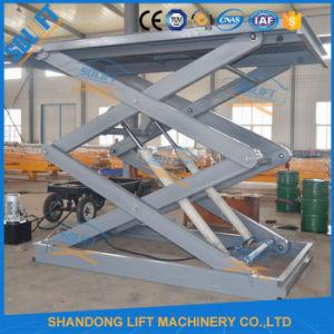 Scissor Type Floor to Floor Vertical Hydraulic Car Elevator pictures & photos