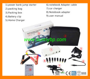 Multi-Function Car Jump Starter Power Bank for 12V Vehicles Battery pictures & photos