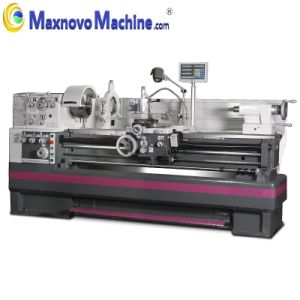 Gear Head Conventional Manual Metal Engine Lathe (mm-D560X1500) pictures & photos
