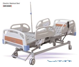 Medical Bed Five Function Electric Hospital Bed pictures & photos