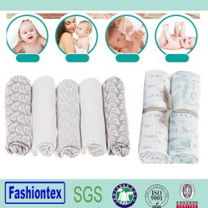 Gauze Fabric Square Baby Muslin Wrap Swaddle Blanket Gauze Fabric Square pictures & photos