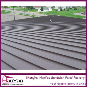 Corrugated Steel Roof Tile Standing Seam for Building pictures & photos