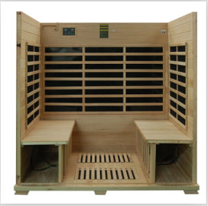 ETL CE Approved 4 Eprson Far Infrared Sauna with All Carbon Heatrs pictures & photos