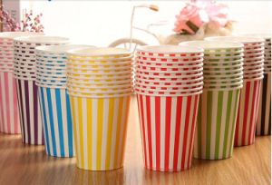 Colourful Paper Party Wedding DIY Events Drinking Tableware Cups pictures & photos