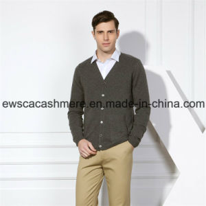 Men′s Hard Solid Color Pure Cashmere Sweater pictures & photos