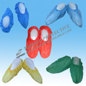 Disposable Shoe Cover, Plastic Shoe Covers, CPE Shoe Covers Colorful pictures & photos