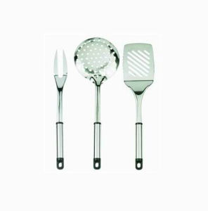 High Quality Stainless Steel 3PCS Cook′s Tools pictures & photos