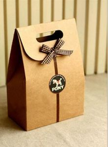 Food Grade Kraft Paper Bags for Baking Packaging pictures & photos