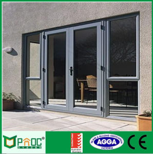 Aluminum Casement Door As2047 Certified Made in China pictures & photos