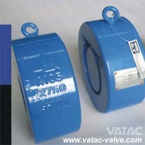 Soft Seal Single Disc Swing Wafer Check Valve pictures & photos