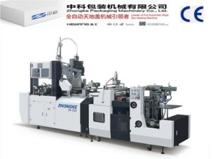 Full Automatic Box Machine Without Angle Pasting (ZK-320) pictures & photos