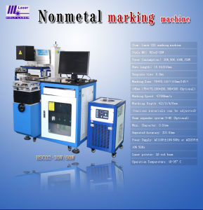 Holy Laser Nonmetal Laser Marking Machine pictures & photos