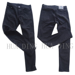 New Fashion High Qaulity Black Men′s Jeans (HDMJ0060) pictures & photos