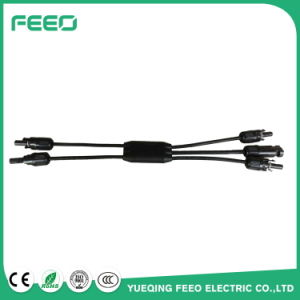 Wholesale China Wire Clip Branch Mc4 Y Connectors Type 1 to 2 Male Female PV Module Connectors for off Grid Solar System pictures & photos