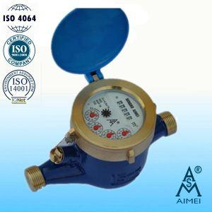 Volumetric Piston Dry Type Brass Brass Water Meter pictures & photos