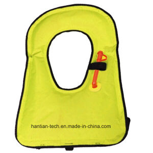 Customized Color TPU Children Inflatable Water Swim Floating Life Jacket pictures & photos