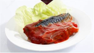 Easy Open Lid Canned Mackerel in Tomato Sauce pictures & photos