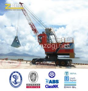 Dual-Power Hydraulic Wheeled Single Boom Grabbing Crane pictures & photos