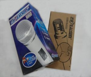 Ealsem Es-501 White Colour Metal Body Condenser Computer Microphone pictures & photos