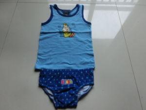 Boy′s Set (Vest+Underwear)