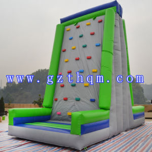 Double-Sided Inflatable Climbing Wall pictures & photos
