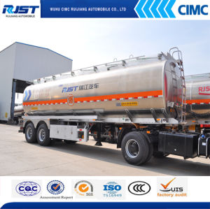 36m3 Aluminium Alloy Fuel Trailer pictures & photos