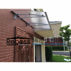 Hot Sale Canopy Steel Frame Canopy with PC Glass Roof pictures & photos