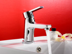 Bathroom Single Handle Basin Faucet with Brass pictures & photos