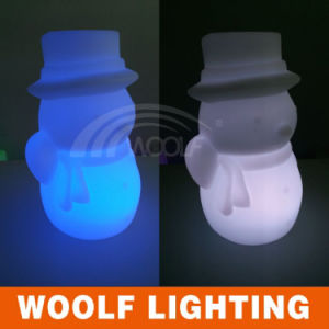 LED Colors Changing Outdoor Garden Snowman Lights pictures & photos