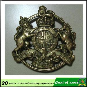 Brass Color Metal Emblem for Your Design pictures & photos