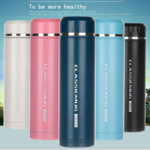500ml Thin Double Wall Stainless Steel Vacuum Thermos (DC-HL1-500) pictures & photos