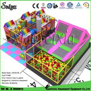 OEM Trampoline Jump Zone Indoor Trampoline (xfx6653) pictures & photos