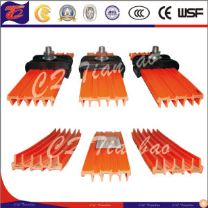 Joinless Safety Impact Resistance Copper Conductor Slide Contact Line pictures & photos